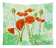 Poppies Tapestry