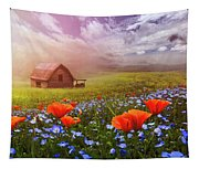 Poppies In A Dream Tapestry