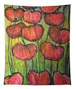 Poppies In Oil Tapestry