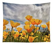 Poppies In The Wind Part Two  Tapestry