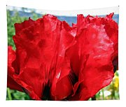 Poppies Plus Tapestry