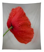 Poppy After The Rain Tapestry