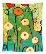 Poppy Celebration Tapestry by Jennifer Lommers