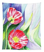 Poppy Couple Gentle Wind Tapestry