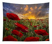 Poppy Field Tapestry