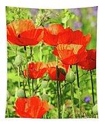 Poppy Garden I Tapestry