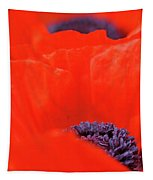 Poppy Heart I Tapestry
