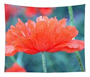 Poppy Profile Tapestry