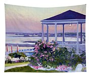 Porch At Sunet Tapestry