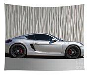 Porsche Beautiful Dream Sports Car Tapestry