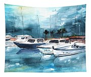 Port Alcudia Harbour 01 Tapestry