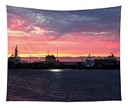 Port Angeles Harbor Thirteen Tapestry