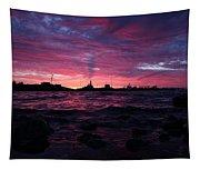 Port Angeles Harbor Twelve Tapestry