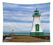 Port Dalhousie Lighthouse 1 Tapestry