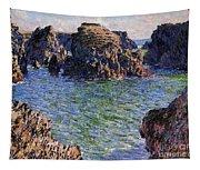 Port Goulphar Belle Ile Brittany Tapestry
