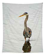 Port Townsend Blue Heron Tapestry
