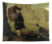Portarolo Col Cane Tapestry