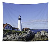 Portland Head Lighthouse Tapestry