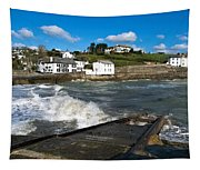 Portmellon In Winter Tapestry