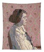 Portrait In Profile Tapestry