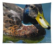 Portrait Of A Duck Tapestry