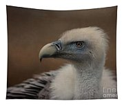 Portrait Of A Griffon Vulture Tapestry