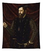 Portrait Of A Knight Of The Order Of Santiago Tapestry
