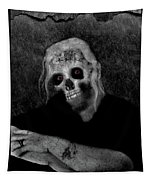 Portrait Of A Zombie Tapestry