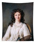Portrait Of Adelaide Binart Tapestry