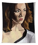 Portrait Of Becca Tapestry