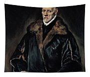 Portrait Of Dr. Francisco De Pisa Tapestry