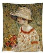 Portrait Of Frances Kilmer Tapestry