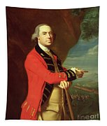 Portrait Of General Thomas Gage Tapestry
