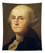 Portrait Of George Washington Tapestry