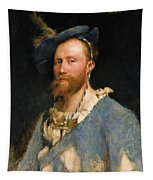Portrait Of Gustave Courtois Tapestry
