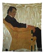 Portrait Of Hans Massmann Tapestry