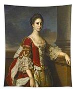 Portrait Of Lady Elizabeth Compton Later Countess Of Burlington Tapestry
