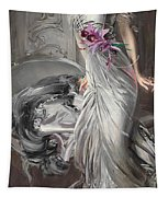Portrait Of Madame Eugene Doyen Tapestry