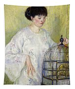 Portrait Of Madame Frieseke Tapestry