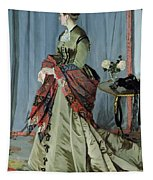 Portrait Of Madame Louis Joachim Gaudibert Tapestry
