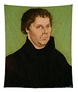 Portrait Of Martin Luther Tapestry