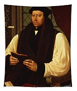 Portrait Of Thomas Cranmer Tapestry