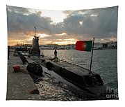 Portuguese Navy Submarine Tapestry