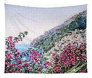 Positano Italy Tapestry