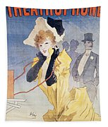 Poster Advertising The Theatrophone Tapestry