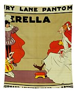 Poster For Cinderella Tapestry by Tom Browne
