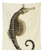 Pot Bellied Seahorse. Hippocampus Abdominalis Tapestry