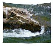 Potomac River Rapids Tapestry