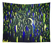 Pouring Rain And Light Tapestry