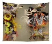 Pow Wow Beauty Of The Dance 1 Tapestry